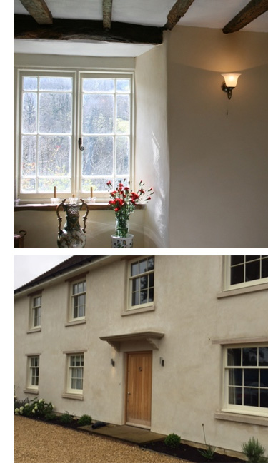 Traditional Lime plastering company Bath